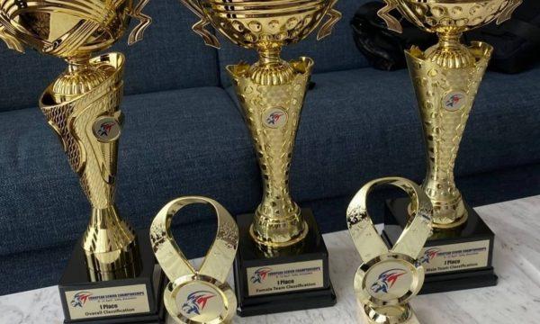 European Taekwondo Seniors Championships 2021 trophy