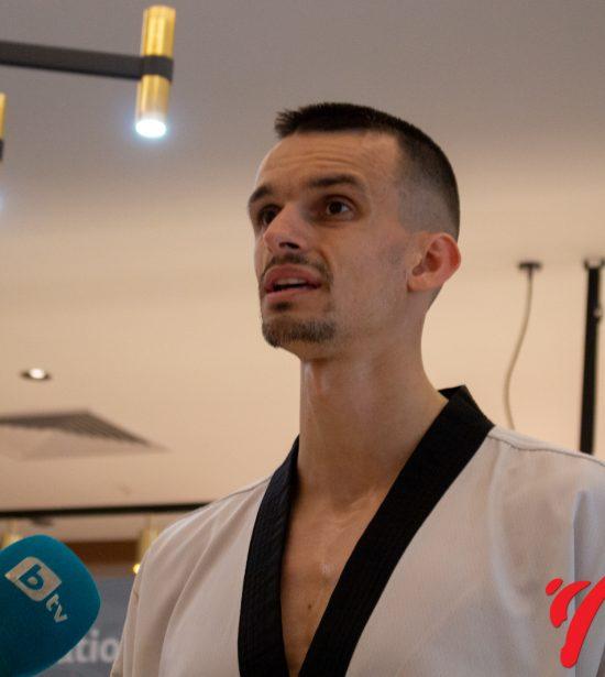 Владимир Далаклиев след битката си за олимпийската квота